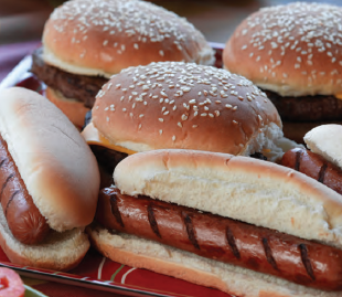 Hamburgers & Hot Dogs Drop-off Catering Chicago Package