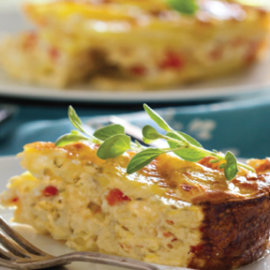 Homestyle Breakfast Strata Catering