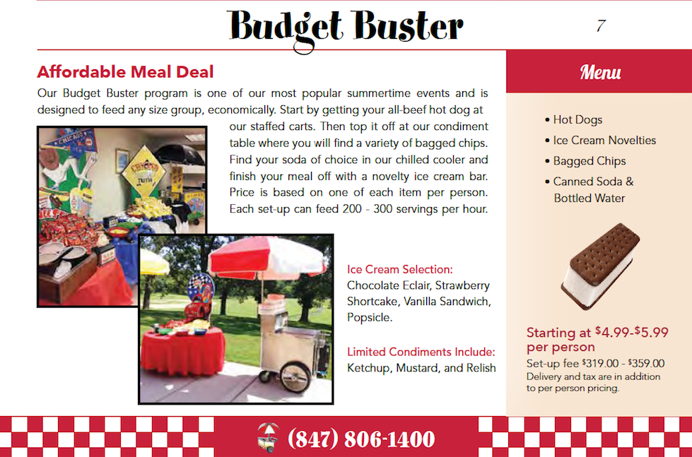 Budget Buster Chicago Catering Package