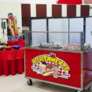 Hot sandwich catering cart chicago