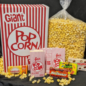 Movie Night Popcorn Candy Package