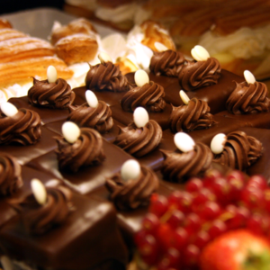 catered sweets platters