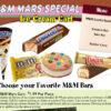 Snickers M&M Ice Cream Bars Cart Chicago
